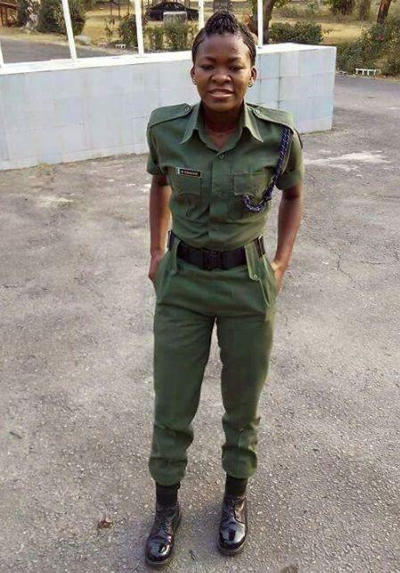 Female Nigerian Soldier, Blessing Ene, Dies
