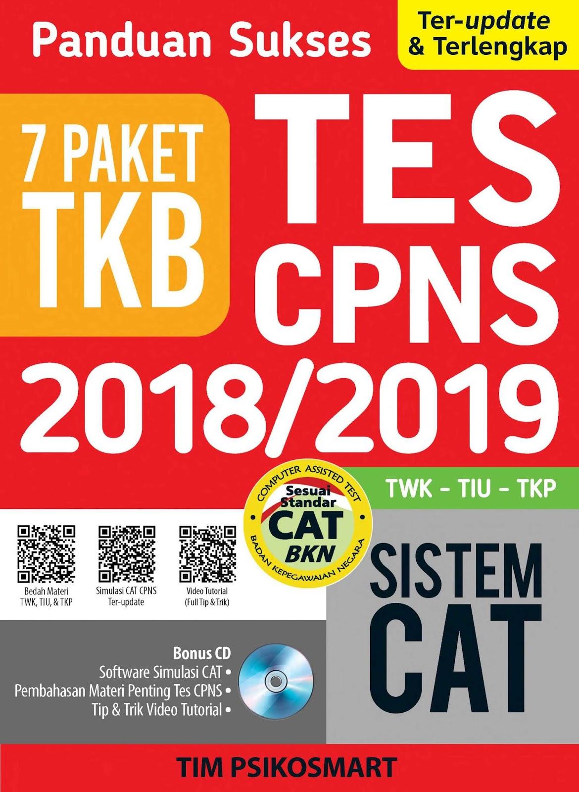 Download Panduan Sukses Tes CPNS 2018-2019 Sistem CAT