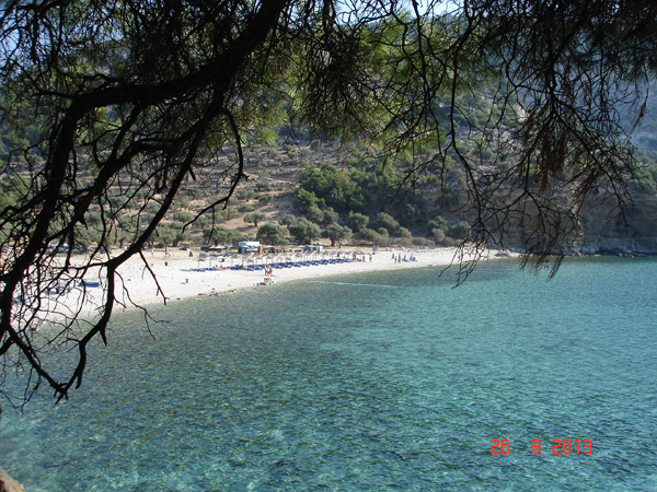 Livadi Beach in Thassos