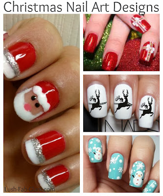 Lush fab glam blogazine gorgeous holiday nail art designs win a gorgeous holiday nail art designs win a nail art gift set prinsesfo Images