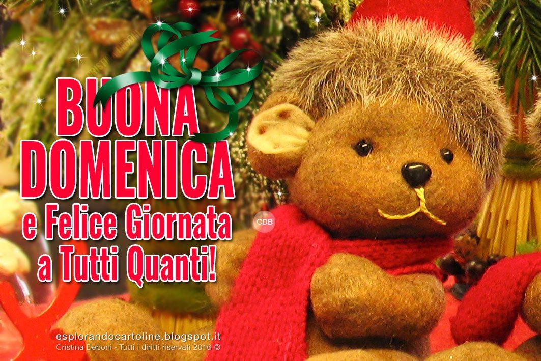 Cdb Cartoline Per Tutti I Gusti Cartolina Buona Domenica E