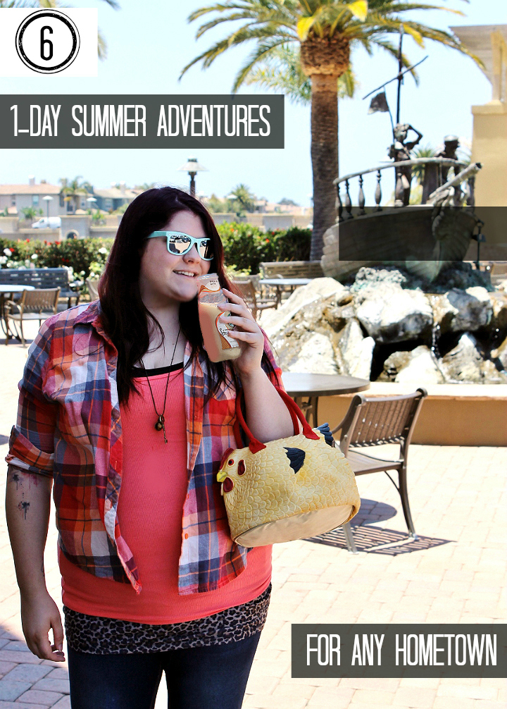 #CraftYourCool with these genius 1 Day Summer Adventures to take in any hometown! #AD