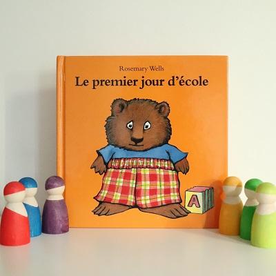 livre le premier jour d'école