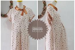 35 Model Baju Hamil Batik Kerja Muslim Terbaru 2019