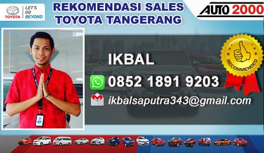 Rekomendasi Sales Toyota Tangerang Barat
