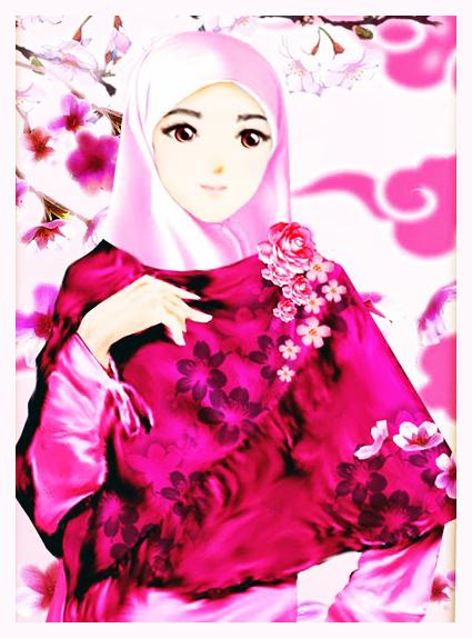 Unduh 7100  Gambar Animasi Muslimah Bergerak Lucu  Free Downloads