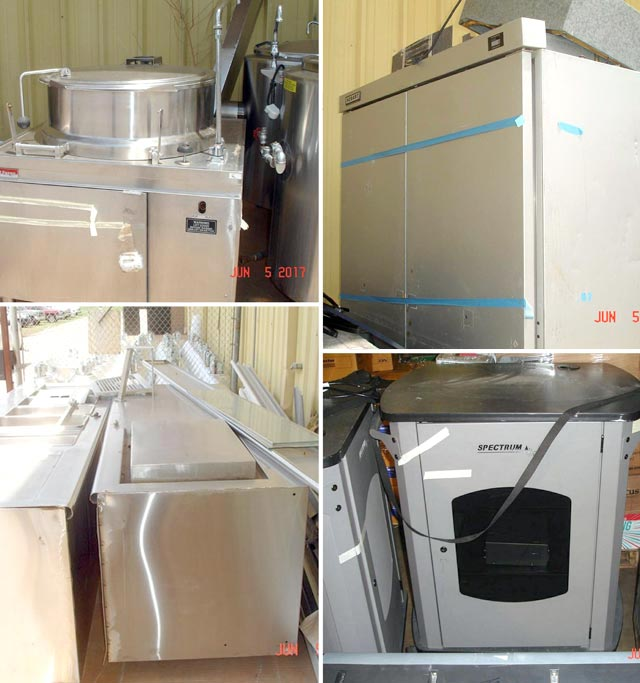 Commercial kitchen equipment - Oklahoma equipment auctions