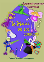 Portada de la antología de relatos La magia de los cuentos