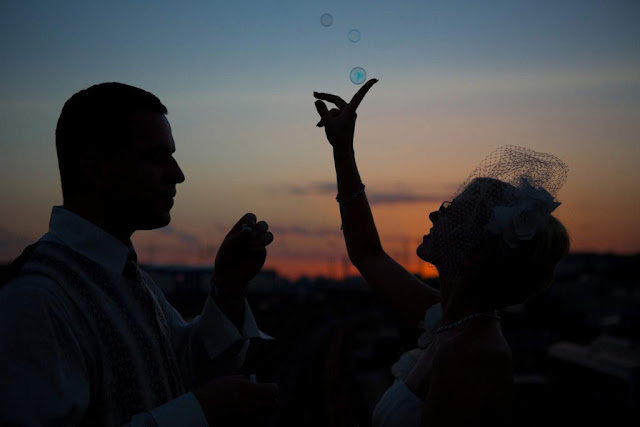 Seifenblasen Hochzeit