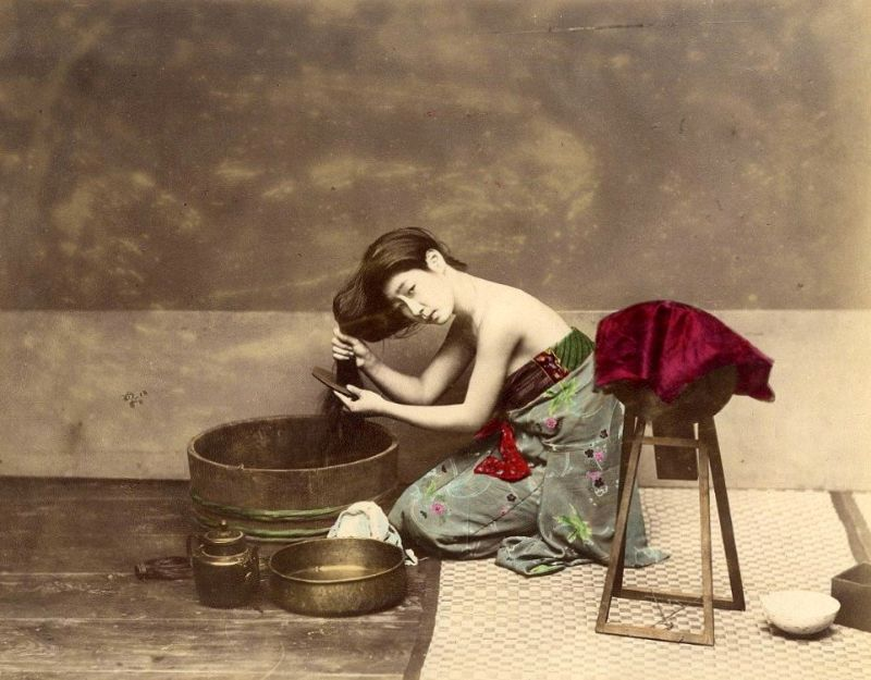 42 Amazing Colorized Pictures That Show Everyday Life of Japan in the 19th Century
