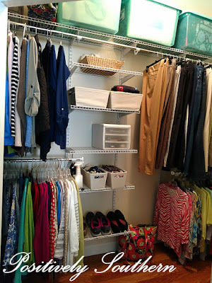 Home Free Rubbermaid Closet System Master closet
