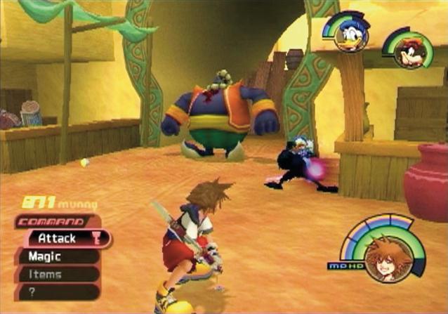 Kingdom Hearts PS2 GAME ISO Screenshot 2