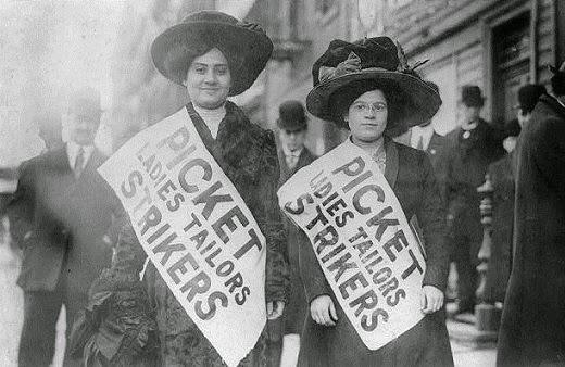 Tailors striking in 1909 New York
