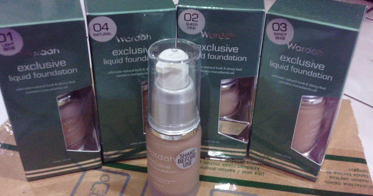 Review Wardah Exclusive Liquid Foundation Rekomendasi Alas