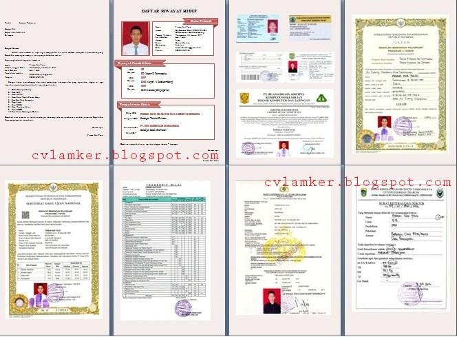 Dokumen-dokumen pendukung syarat wajib Pramugari