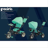 pacific lmx809c stroll trike