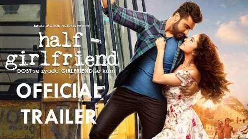 Half Girlfriend 2017 Hindi HD Official Trailer 720p