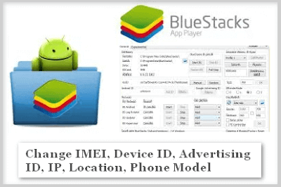 how to change imei, device id, UDID donkeygurad number, serial key of bluestacks, BS tweaker, hack bluestacks