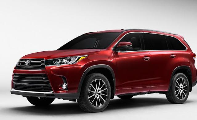 2018 Toyota Highlander Release Date Canada