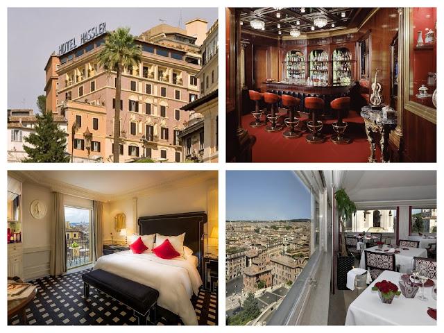 Fotos del lujoso hotel Hassler, propiedad de Roberto Wirth, sordo de nacimiento