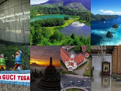 tempat wisata menarik di jawa tengah