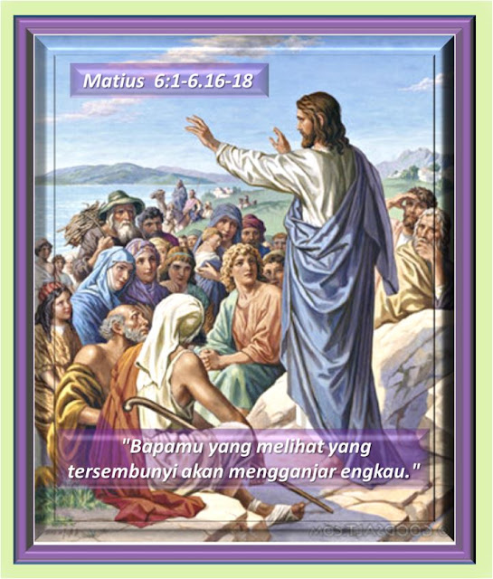 MATIUS  6:1-6.16-18