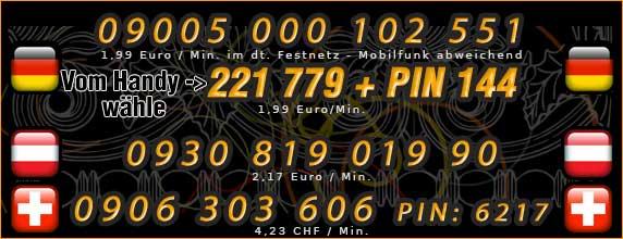 Nummern für Telefonsex mit Schwarzer Hausfrau - Deutschland, Österreich und Schweiz