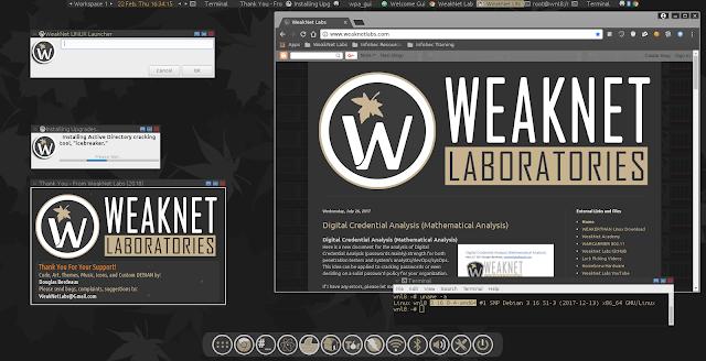 WeakNet Linux 8