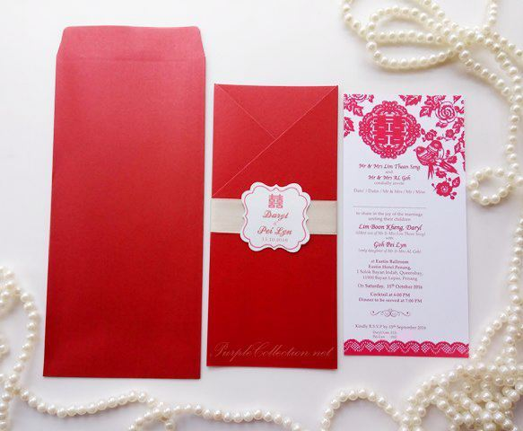 Chinese oriental wedding card printing malaysia, kuala lumpur, selangor, klang, perak, ipoh, pulau pinang, penang, eastin hotel, johor bahru, singapore, kuching, kota kinabalu, sabah, sarawak, nsw, sydney, melbourne, australia, usa, canada, vancouver, export, international, handmade, hand crafted, bespoke, personalized, personalised, elegant, asian, mini tag, grey satin ribbon, white, pearl, affordable, online order, express, rush, cetak