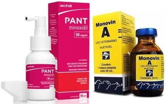 Minoxidil e Monovin A