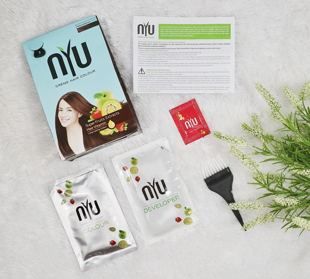 Unboxing NYU Creme Hair Color