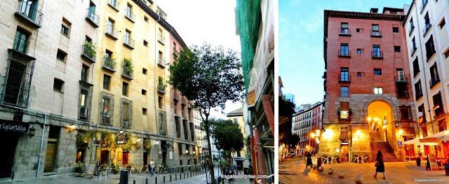 Madri, Cava Baja e Arco de Cuchilleros