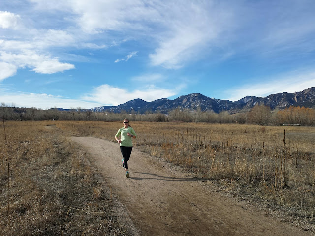 Early Morning Run - South Boulder Creek Trail