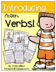 http://www.teacherspayteachers.com/Product/Introducing-Action-Verbs-433785