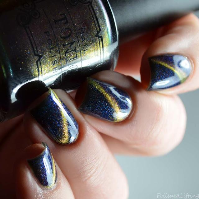magnetic multi chrome nail polish