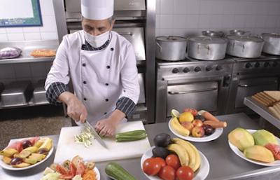 Seguridad E Higiene Operaciones Preliminares Cortes Y Manejo De Cuchillos En La Cocina