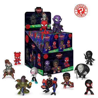 Spider-Man Into the Spider-Verse Mystery Minis Blind Box Series by Funko x Marvel