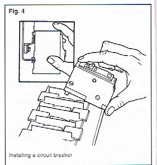 help for do it yourselfers replacing a faulty circuit breaker Home Cable Box Diagram a single pole breaker will have one wire attached usually black a double pole breaker will have two wires attached usually black and red
