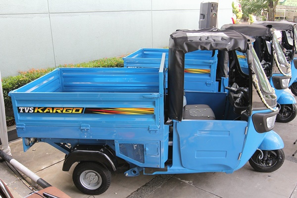TVS Kargo Motor Roda Tiga Khusus Angkut Barang