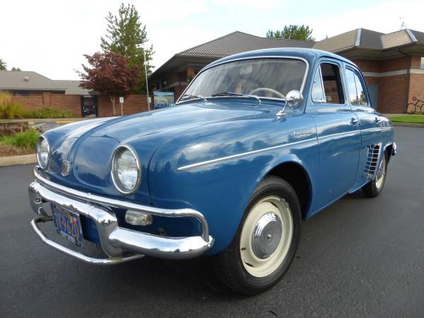 1959 Renault Dauphine US Model