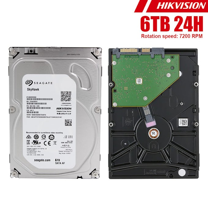 "HDD 3.5"" 24H Seagate Hikvision 6TB"