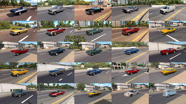 ats classic cars ai traffic pack v3.1 screenshots 3