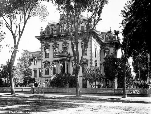 Leland Stanford Mansion Sacramento