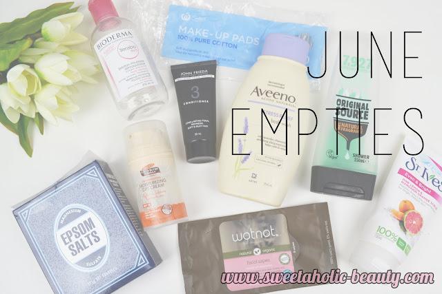 June Empties - Sweetaholic Beauty
