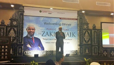 Di UMY, Zakir Naik Angkat Tema 'Religion as an Agent of Mercy and Peace'