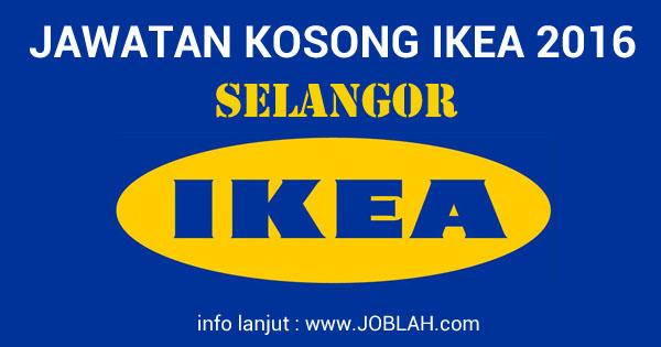 Jawatan Kosong IKEA Selangor 2016