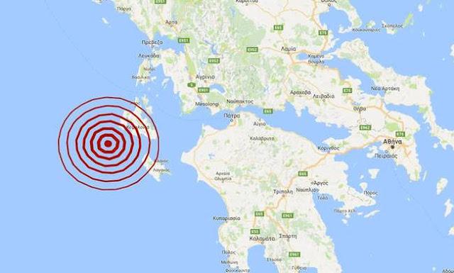 Σεισμοί σε Κεφαλονιά και Κρήτη