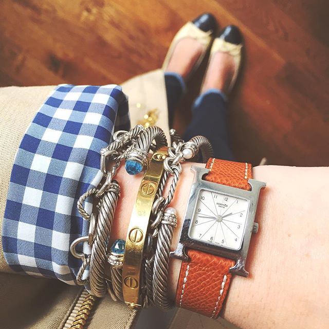 Krista Robertson, Covering the Bases,Travel Blog, NYC Blog, Preppy Blog, Style, Fashion, Fashion Blog, Travel, Jewelry, Bracelets, Cartier, Hermes Watches, David Yurman