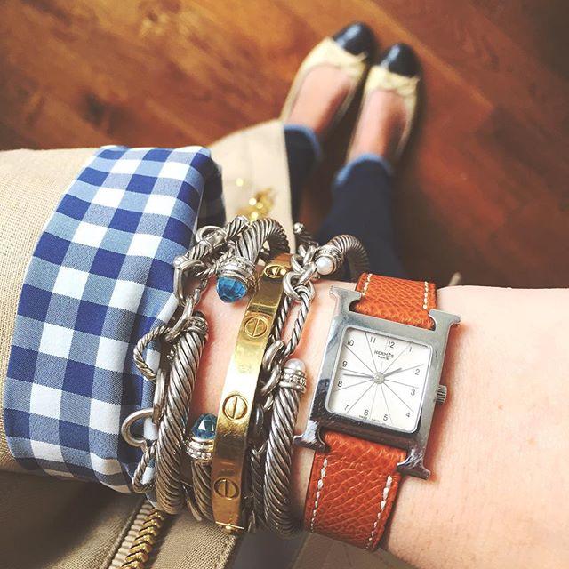 Krista Robertson, Covering the Bases,Travel Blog, NYC Blog, Preppy Blog, Style, Fashion, Fashion Blog, Travel, Jewelry, Bracelets, Cartier, Hermes Watches, David Yurman
