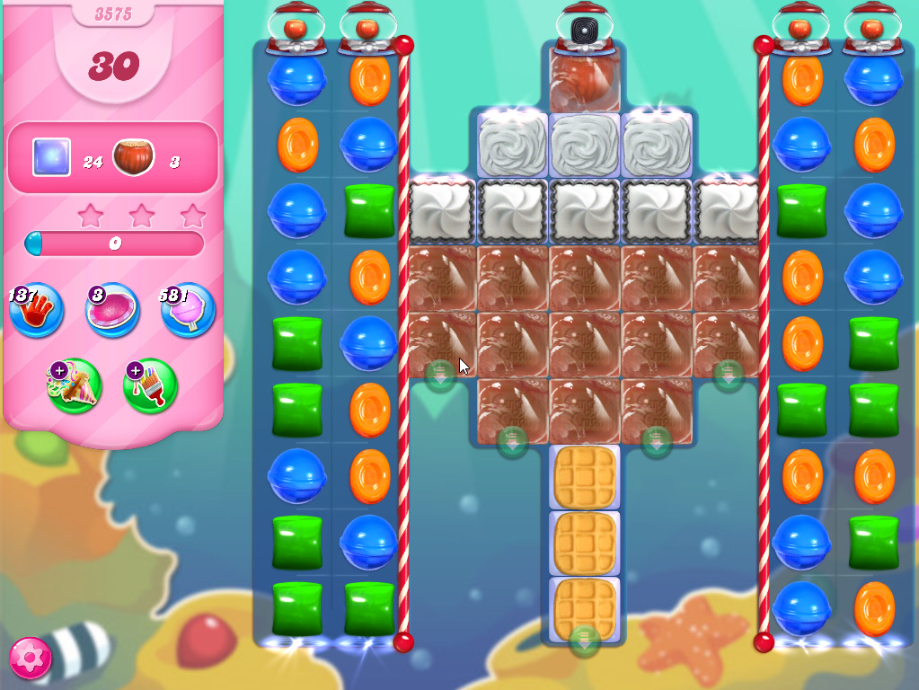 Candy Crush Saga level 3575